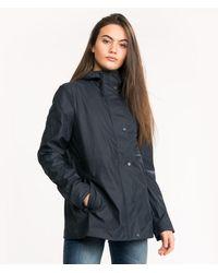HUNTER Original Lw Rubberised Jacket - Blue