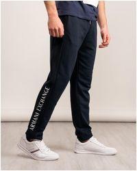 Armani Exchange Pantaloni Sweat Bottom - Blue