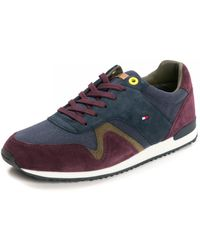 Tommy Hilfiger Iconic Material Mix Mens Runner - Multicolour