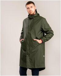 Rains Fishtail Parka - Green