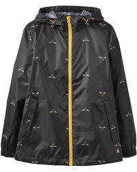 Joules - Golightlyshort Womens Waterproof Packaway Jacket S/s - Lyst