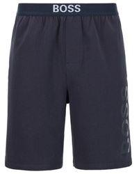 BOSS by HUGO BOSS Identity Pajama Shorts - Blue