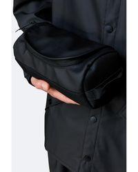 Rains Duffel Wash Bag - Black
