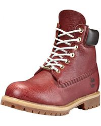 Timberland 6 Inch Premium Waterproof Boots - Brown