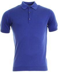 John Smedley - Adrian Mens Polo Shirt - Lyst