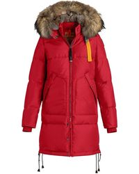 Parajumpers Long Bear Womens Jacket - Red