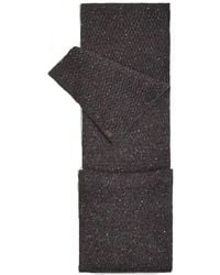Joules Blyth Knitted Mens Scarf (x) - Brown