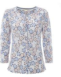 White Stuff - Kristina Linen Womens Jersey Shirt - Lyst