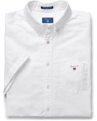 GANT Classic Oxford Shirt - White
