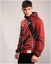Armani Exchange Lightweight Logo Jacket - Red