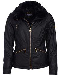 Barbour - Croft Wax Womens Jacket - Lyst