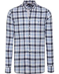 Tommy Hilfiger - Slim Grid Check Mens Shirt - Lyst