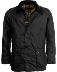 Barbour Ashby Wax Jacket - Blue