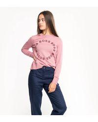 BOSS by Hugo Boss Ihannon Sweatshirt - Pink
