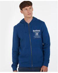 Barbour Reed Hoodie - Blue