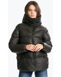HUNTER Original A-line Puffer Jacket - Black