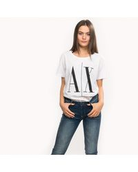 Armani Exchange Armani T-shirt - White
