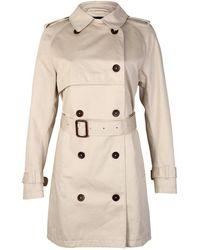 GANT La Prep The Perfect Ladies Trench Coat - Natural