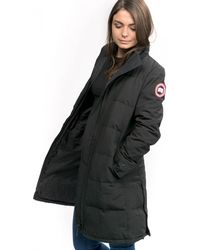 Canada Goose Heatherton Ladies Parka - Black