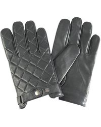 Barbour - Quilted Ladies Leather Gauntlet - Lyst