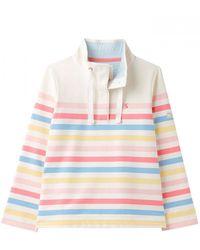 Joules Funnel Neck Sweatshirt Saunton - Multicolour