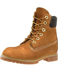 Timberland 6 Inch Premium Ladies Waterproof Boots - Brown