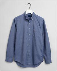 GANT The Regular Oxford Shirt - Blue