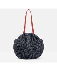 Joules Eva Round Bag - Blue
