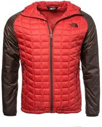 The North Face Thermoball Sport Hoodie - Red