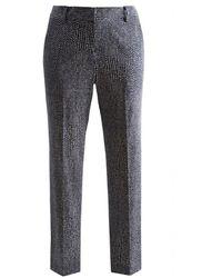 Joules Audrey Printed Capri Trousers - Blue