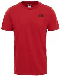 The North Face - Simple Dome Mens Tee - Lyst