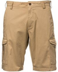 GANT O1. Relaxed Twill Utility Shorts - Natural