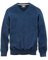 814309629c10 Lyst - Burberry Brit Grey Extra-fine Merino Wool  williams  Sweater ...