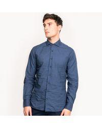 Hackett Target Print Shirt - Blue