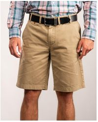 Barbour Neus Twill Shorts - Natural