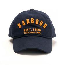Barbour - Prep Logo Mens Sports Racing Cap - Lyst