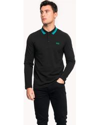 BOSS Athleisure Plisy Mens Polo Shirt - Black