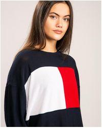 Tommy Hilfiger Icons Flag Sweatshirt - Red