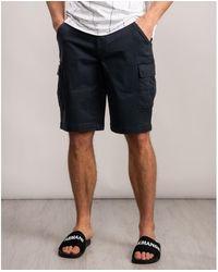 Calvin Klein Garment Dyed Cargo Shorts - Blue