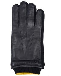 Barbour Union Leather Gloves - Black