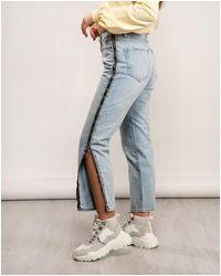 Armani Exchange Zip Jeans - Blue