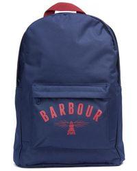 Barbour Hartland Backpack - Blue