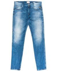 Replay M914y .000.93c 262 Pants - Blue