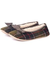 Barbour - Lily Womens Slippers - Lyst