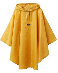 Joules Womens Rain Cover-up A/w - Yellow