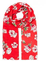 Joules Conway Scarf - Red