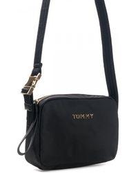 Tommy Hilfiger Th Nylon Camera Bag - Black