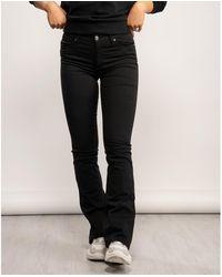 Armani Exchange Flare Jeans - Black