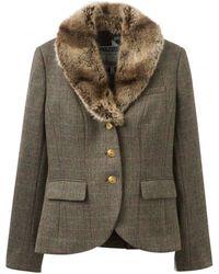 Joules Willa Ladies Tweed Blazer (v) - Multicolor