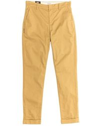 Maison Scotch Clean Belted Chinos - Natural